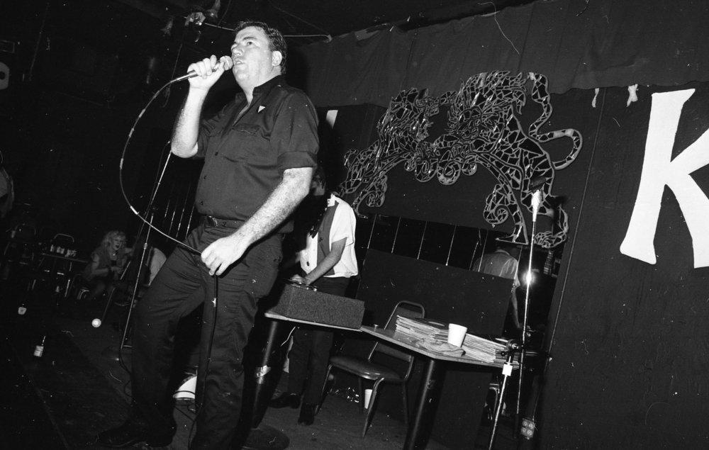 Rap contest, On Klub, Los Angeles, ca, 1979.
