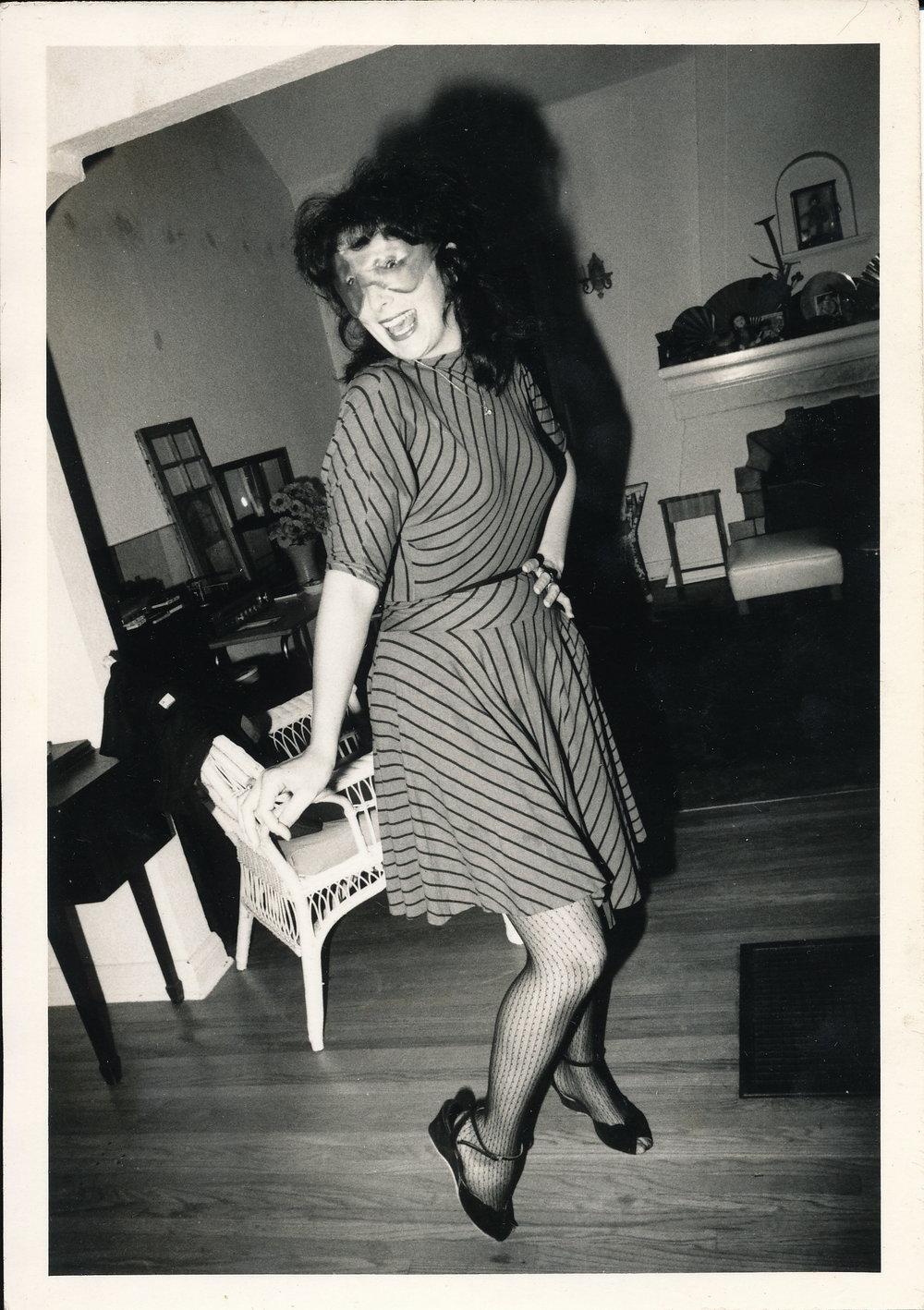 Nancy, ca. 1979. Los Angeles.