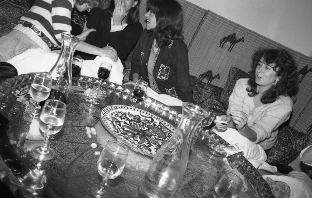 Moroccan Restaurant: Girls' Night Out. Los Angeles, 1981 (2/19)