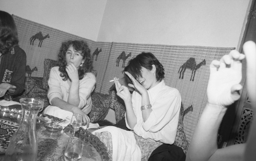 Moroccan Restaurant: Girls' Night Out. Los Angeles, 1981 (3/19)