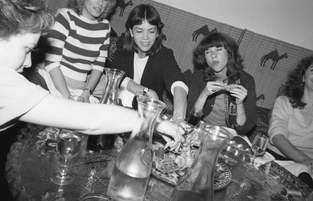 Moroccan Restaurant: Girls' Night Out. Los Angeles, 1981 (4/19)