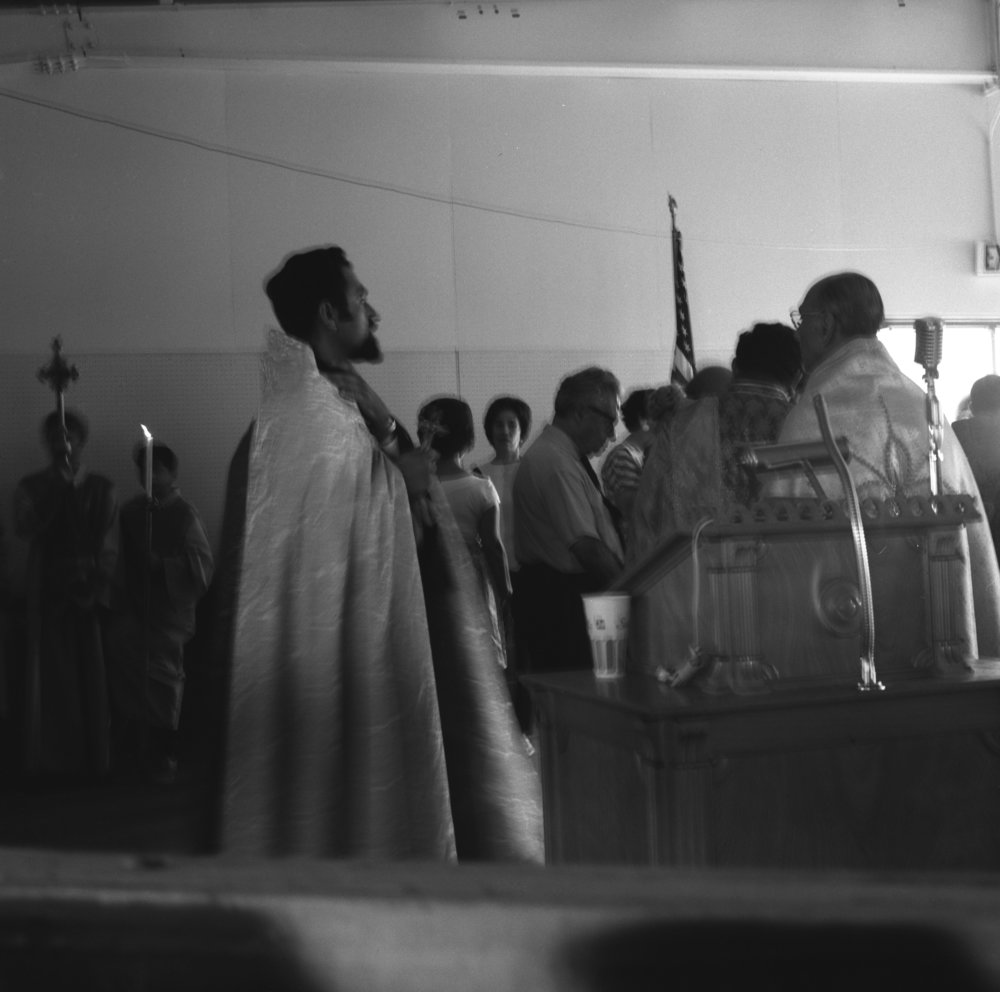 Blessing of the Grapes. Fresno, 1969. (1/2)