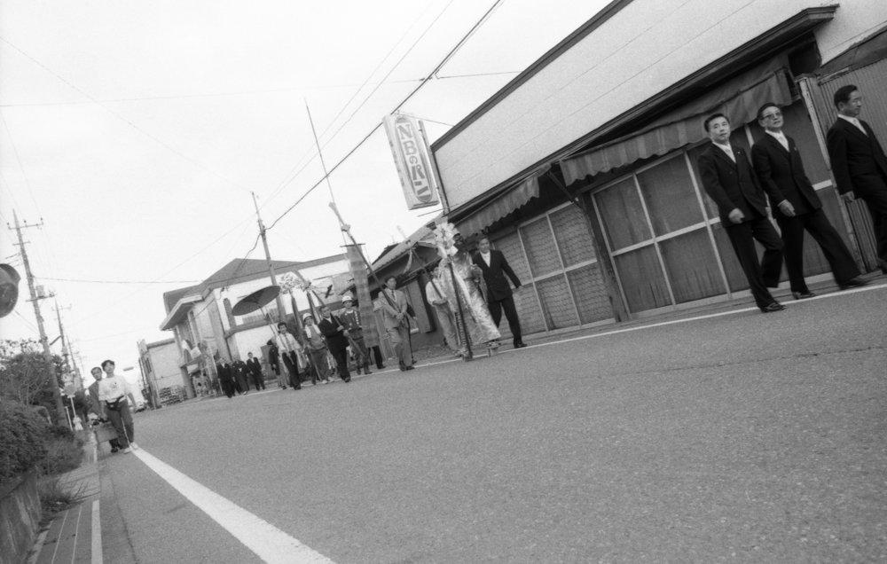 Shinto procession, Gotemba-shi, Japan, 1988. (1/3)