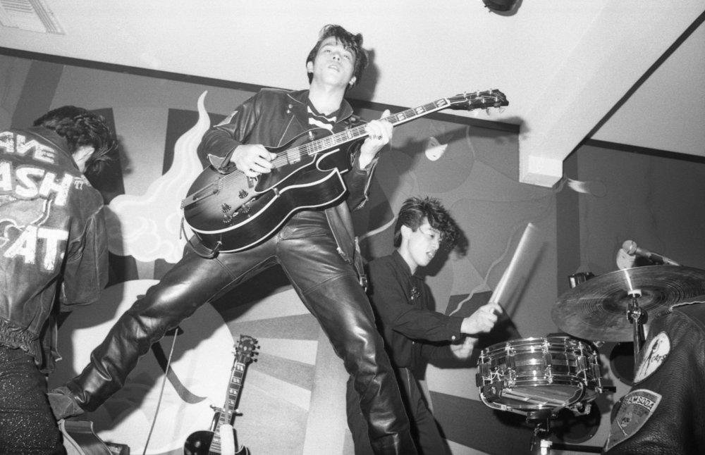 Black Cats, China Club, Los Angeles, ca 1980. (5/9)