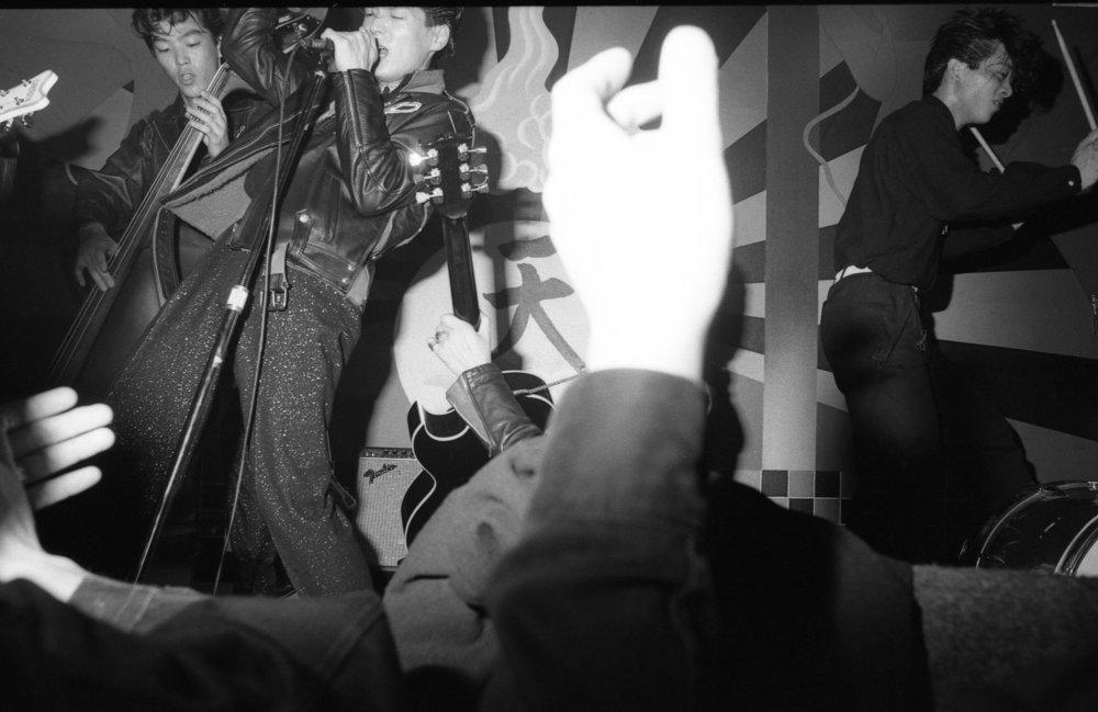 Black Cats, China Club, Los Angeles, ca 1980. (8/9)