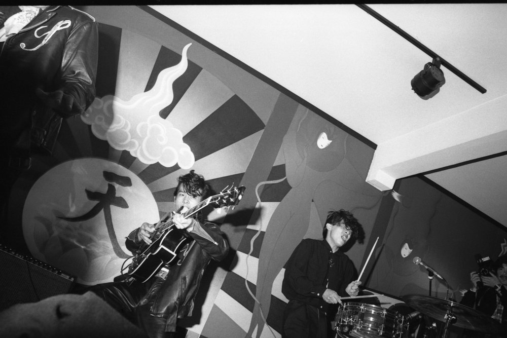 Black Cats, China Club, Los Angeles, ca 1980. (9/9)