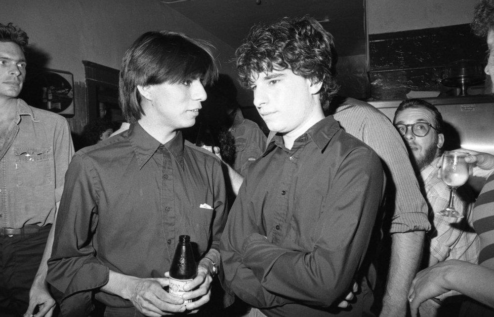 Crowd at Al's Bar, Los Angeles, 1980.