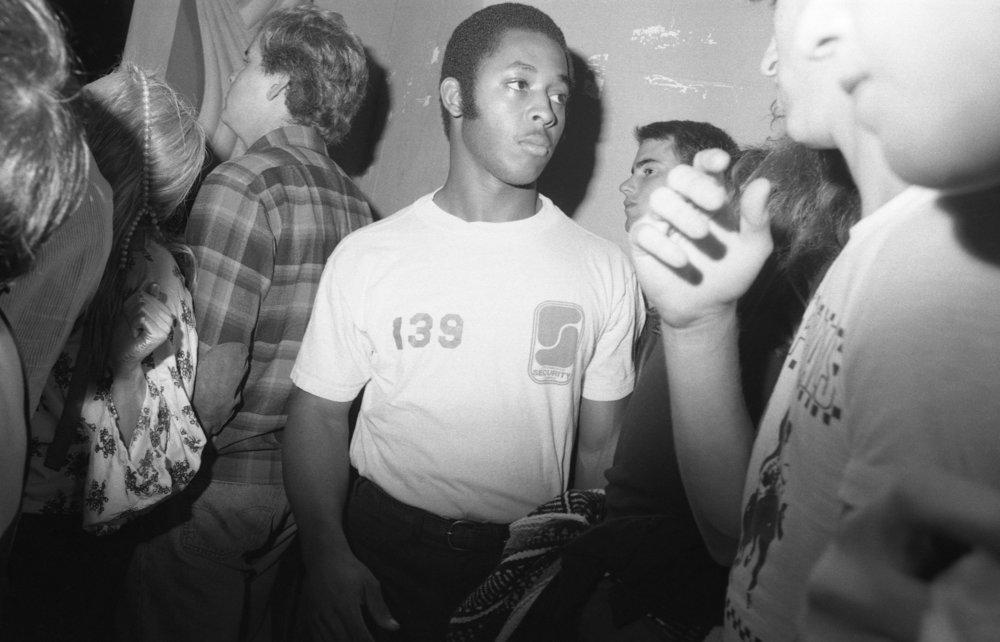 Crowd at ska concert, Pasadena, 1980.