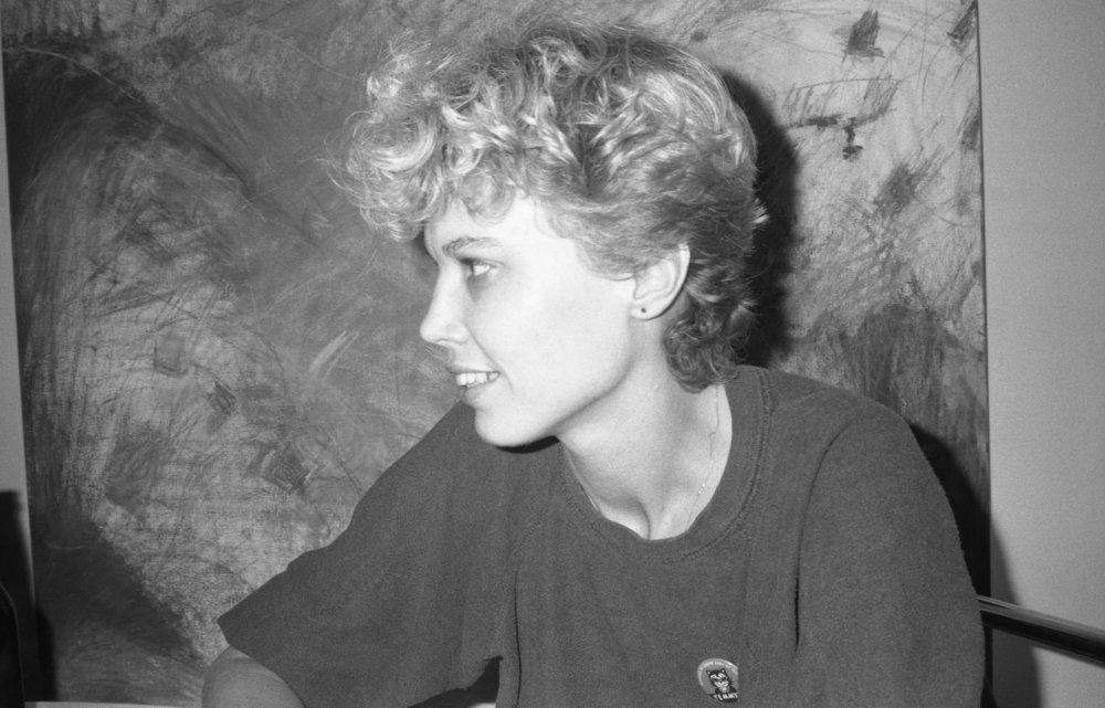 Stephanie. Los Angeles, October, 1982. (1/2)