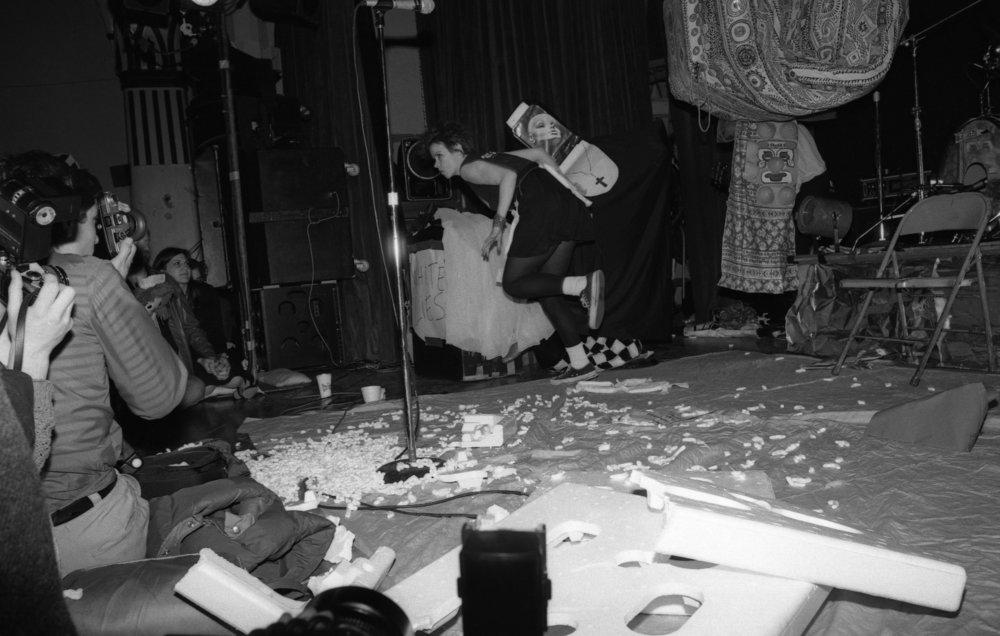 Johanna Went performing at Ukrainian Cultural Center, Los Angeles, 1982. (2/3)