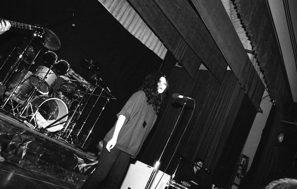 Fibonaccis performing at the Ukrainian Cultural Center, Los Angeles, 1982. (2/7)