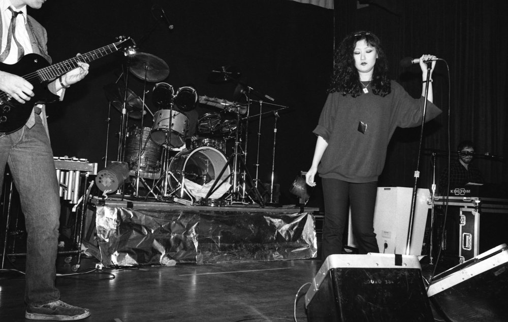 Fibonaccis performing at the Ukrainian Cultural Center, Los Angeles, 1982. (3/7)