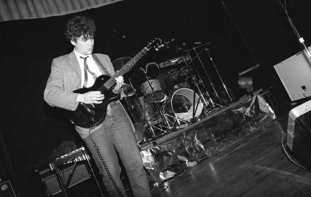 Fibonaccis performing at the Ukrainian Cultural Center, Los Angeles, 1982. (4/7)