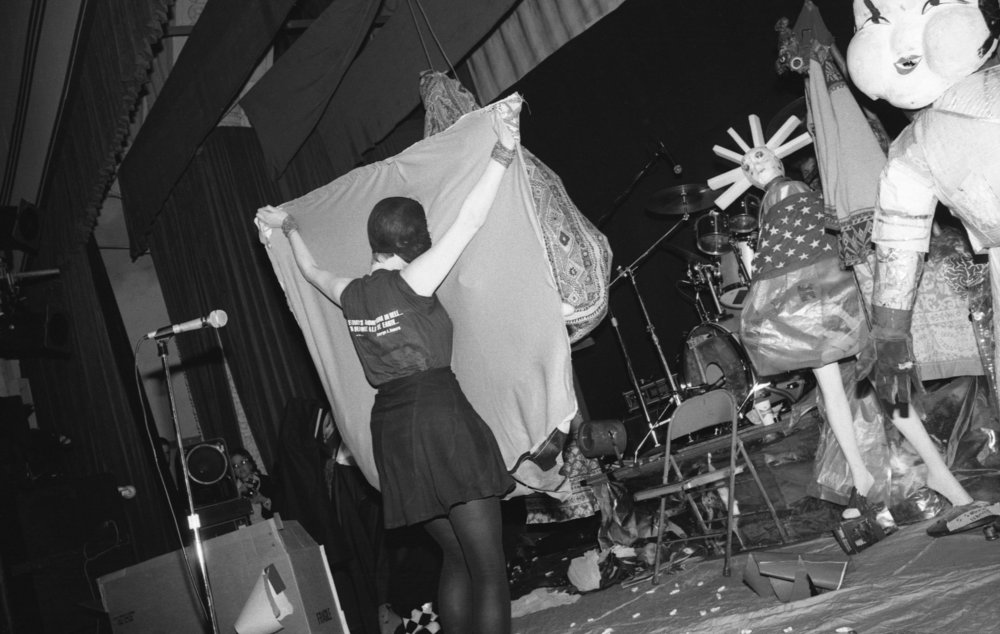 Johanna Went performing at Ukrainian Cultural Center, Los Angeles, 1982. (3/3)