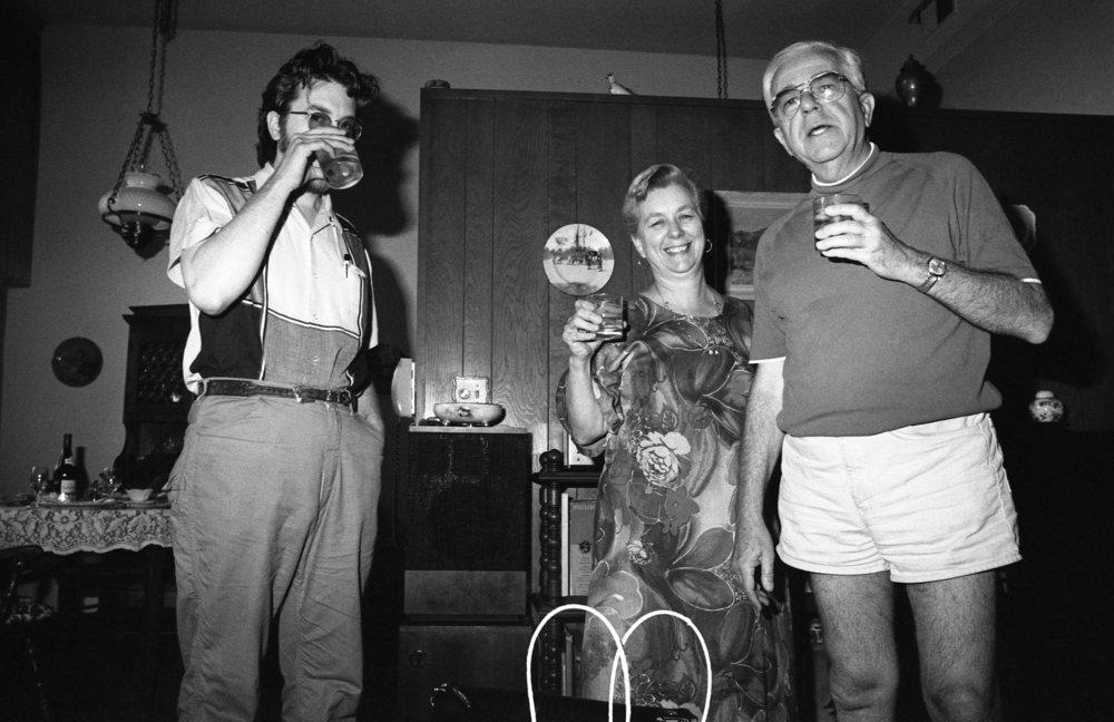 Famille Nixon, Burbank, California, about 1979.