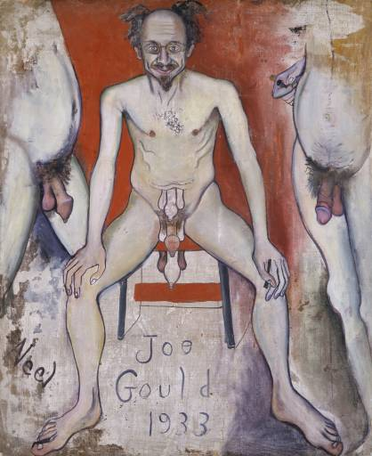 Alice Neel,  Joe Gould , 1933. Private collection.