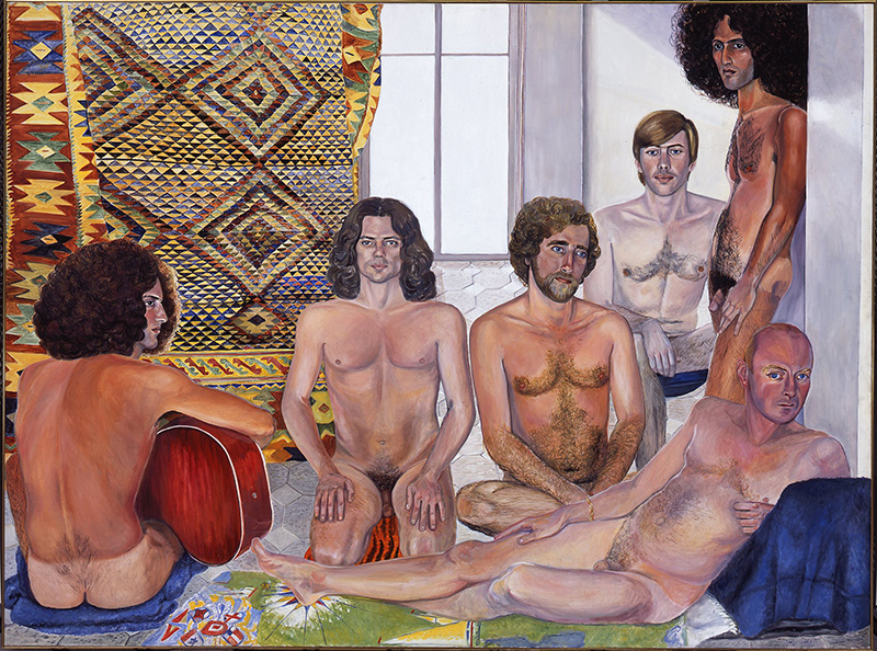 Slyvia Sleigh,  The Turkish Bath , 1973. Smart Museum of Art, University of Chicago, purchase, Paul and Miriam Kirkley Fund for Acquisitions, 2000.104.