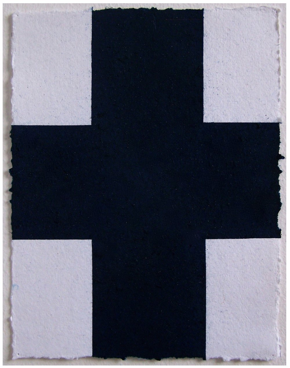 Dark Blue Cross