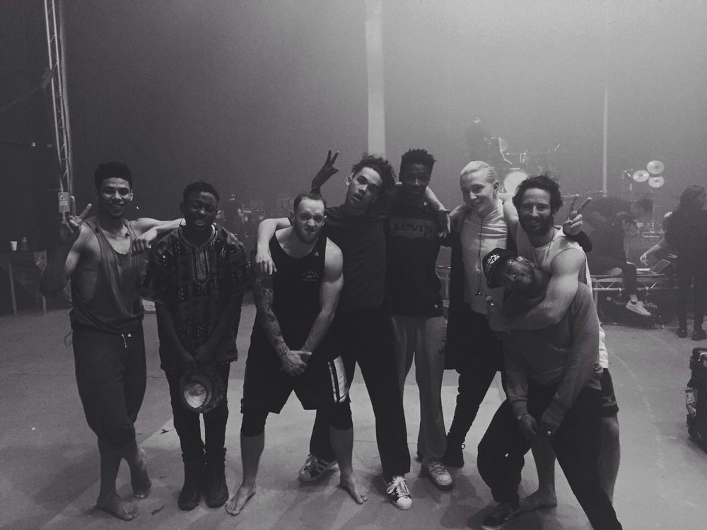 Dancers on tour with FKA TWIGS, directed by Ryan Heffington