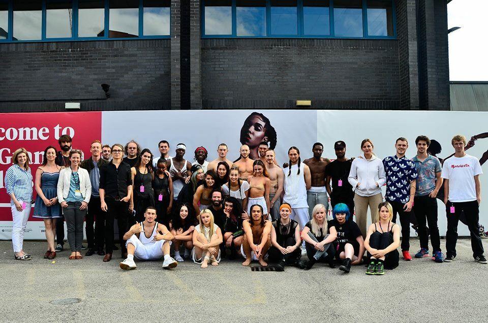 FKA TWIGS 'Soundtrack 7' at Manchester International Festival, photo: Paula Harrowing