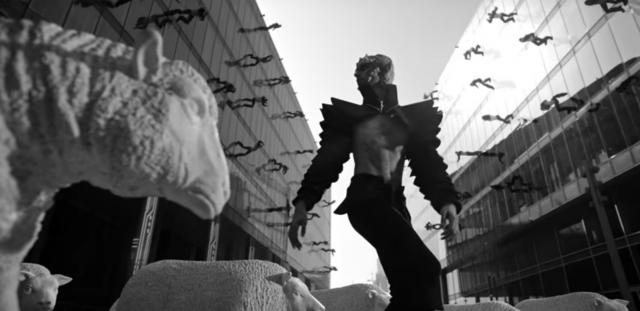 IMAGINE DRAGONS 'Thunder' video still, directed by Joseph Kahn
