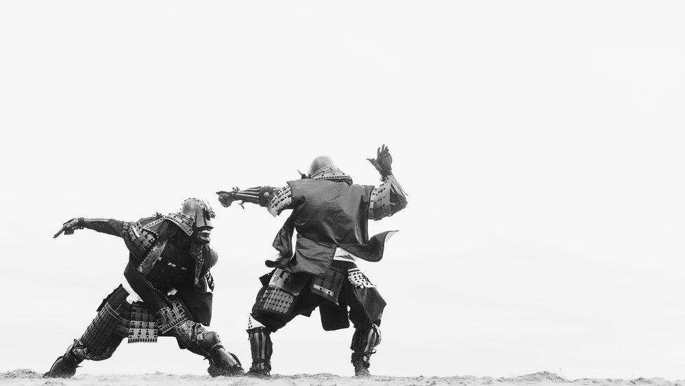 PIERS JAMES 'Samurai', directed by Luke Davies. Photo: Woody Rankin