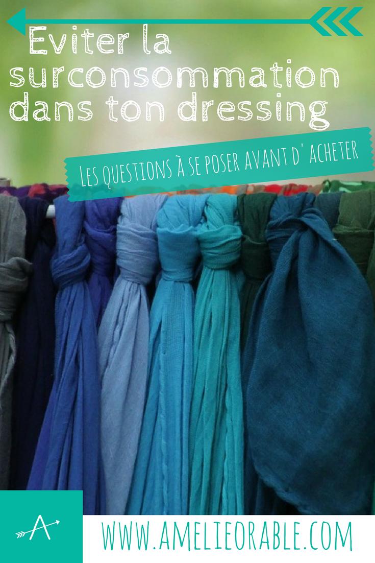 Eviter la surconsommation dans ton dressing : les bonnes questions à se poser avant d'acheter