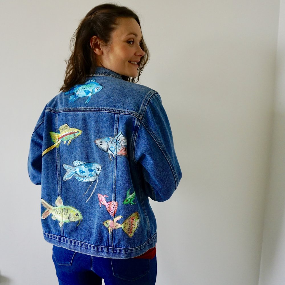 Hanna Pumfrey in SmartSquid Jacket