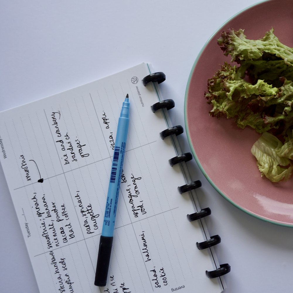 nutrition planner in Greenbook from Greenstory
