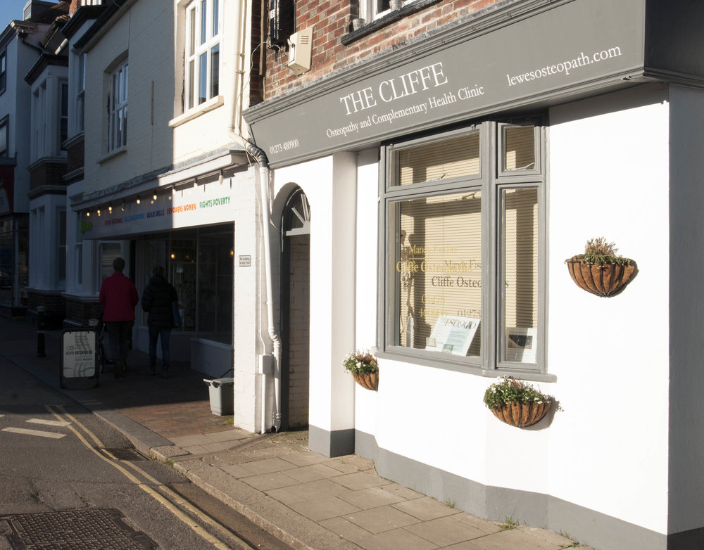 Cliffe Osteopathy and Complementary Health Clinic in Lewes