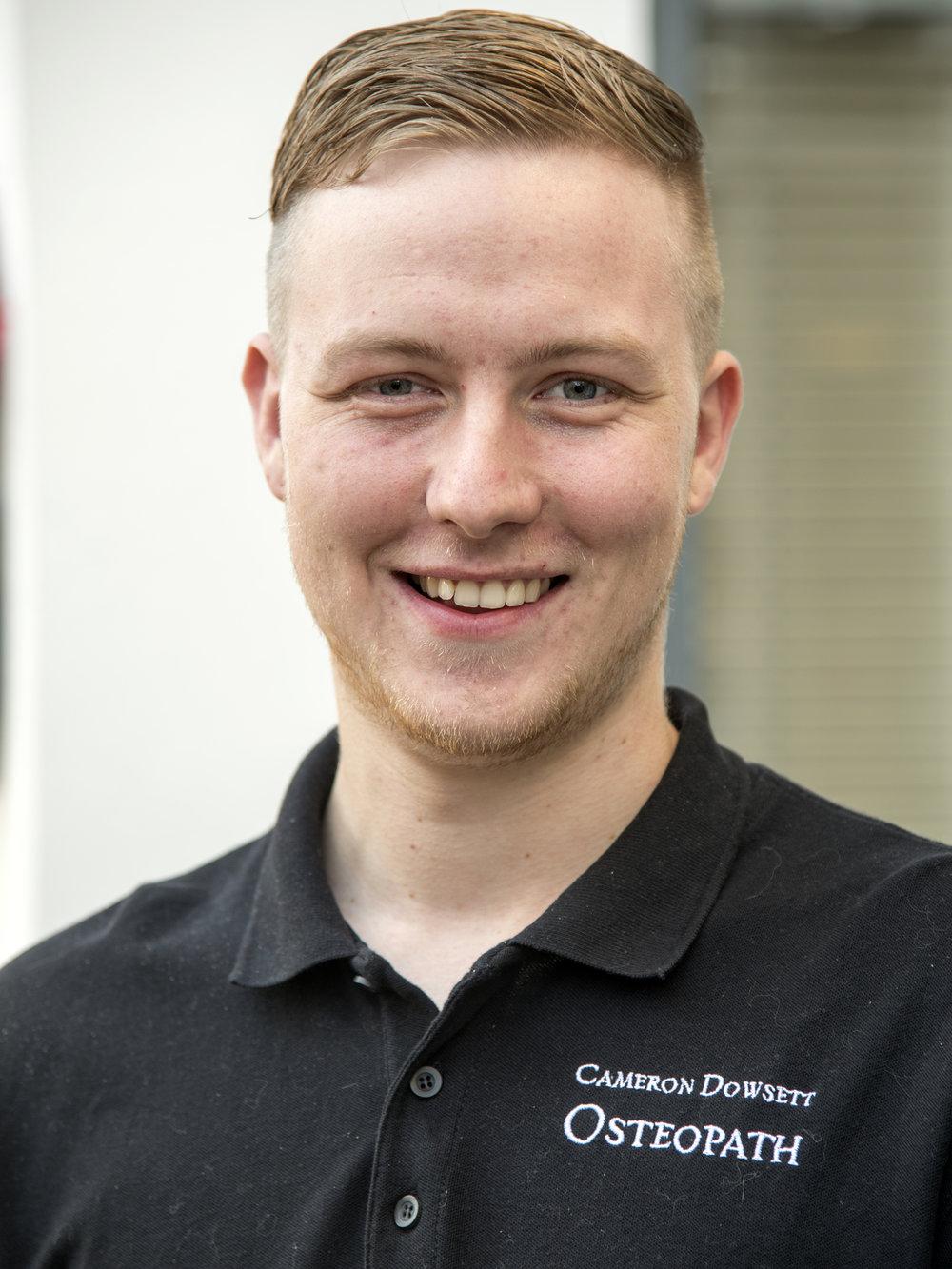 Lewes Osteopath Cameron Dowsett