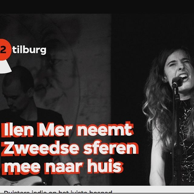 #throwback - a nice review of our #tilburg releaseshow somehow slipped through. Thanks @3voor12tilburg @3voor12 for the kind words. Full article on our FB page x