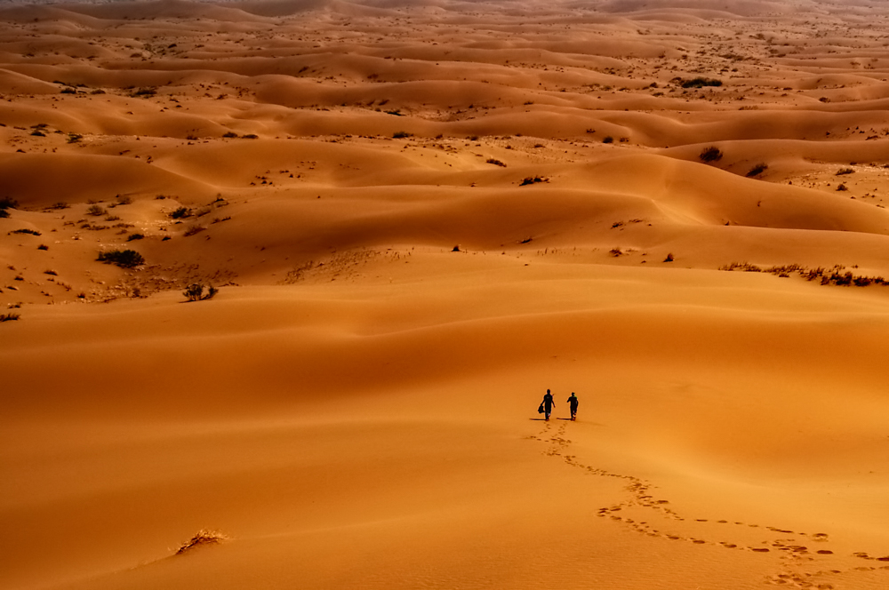 Maranjab desert - Photo by: Arash Karimi
