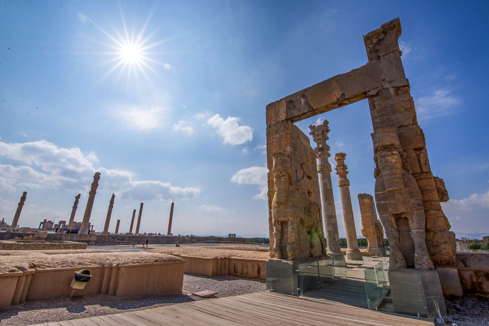 Persepolis - Photo by: Mohsen Anvaari