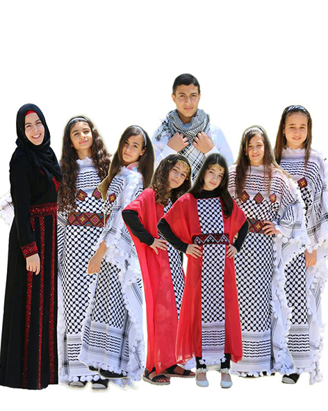 Palestinian children's group Fatafeat - Singers