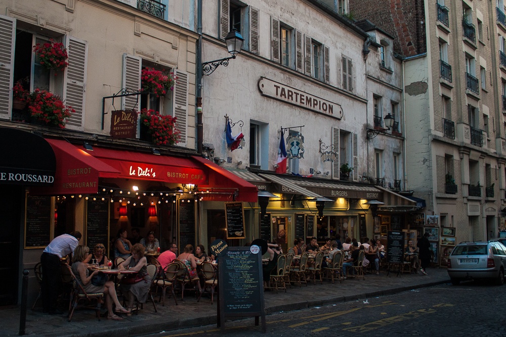 Neighborhood of Montmartre