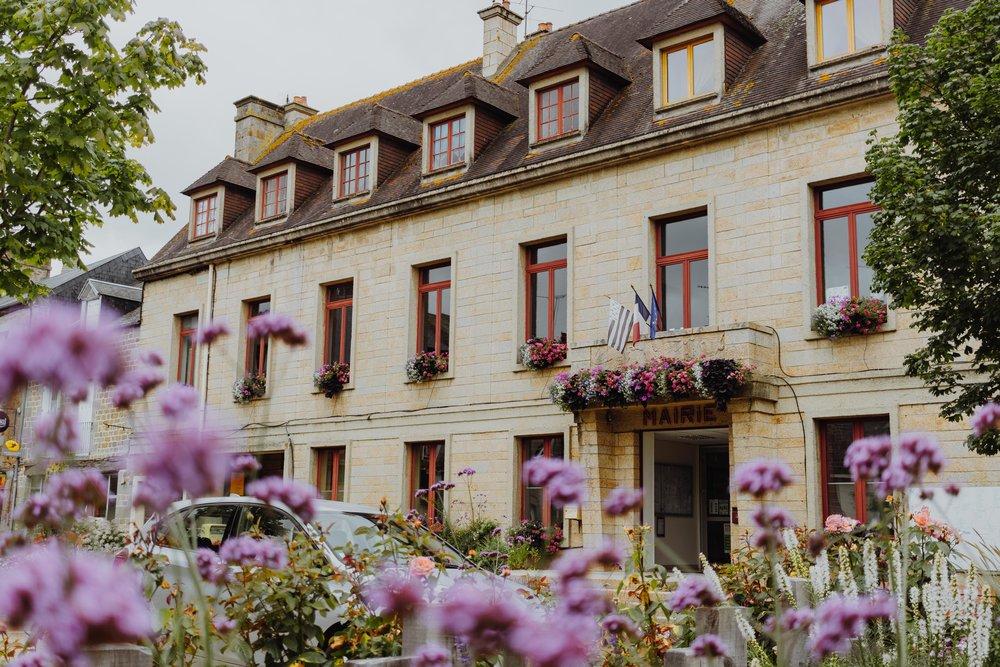 Mairie, Saint Georges de Reintembault