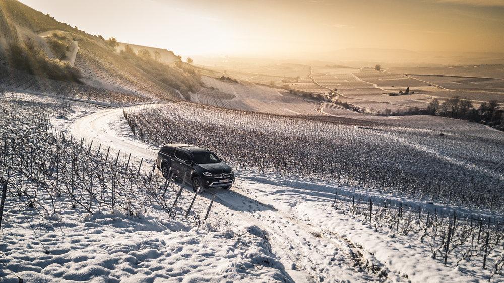 Unser neues Weingarten- & Liefer- & Fassholauto Mercedes X-Klasse :D