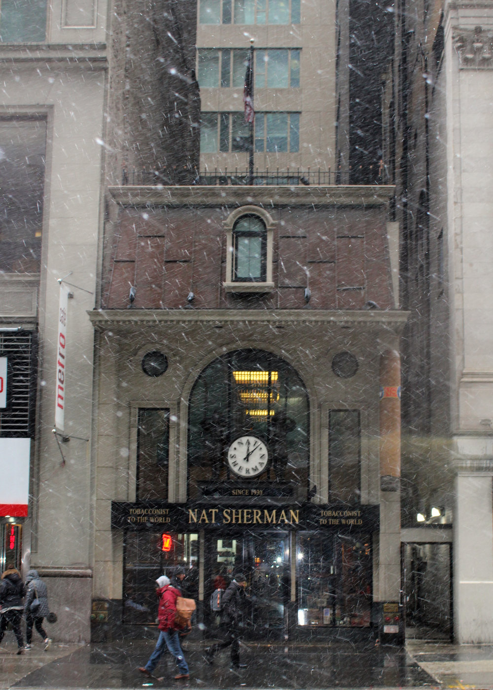 The Nat Sherman Townhouse, built in 2007 to convey Old World authenticity.