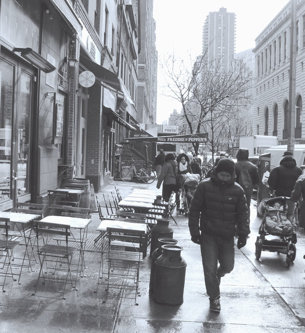 Gone are the dry cleaners, shoe repair shop, and the neighborhood's oldest gay bar,  Candle Bar,  which opened in 1958.