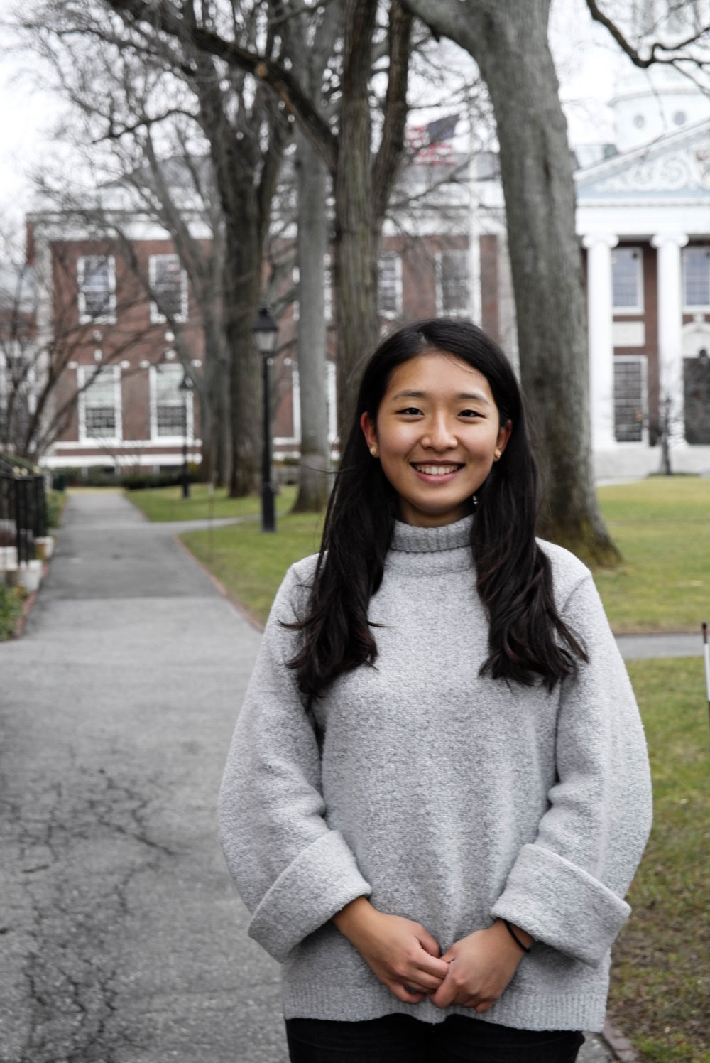 Name: Shana Yang '18 (Assistant Music Director & Business Manager) Concentration: Sociology House/Dorm: Adams Haus Best Haus Favorite CB Song: Letter & Let It Be Favorite CB Memory: Newbie's First Jam! (Aca-tober) When I was little, I wanted to be: a dog. #noshame