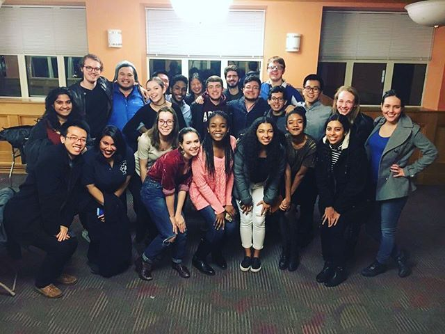 The Harvard Callbacks had a great time singing with the Columbia Nonsequitur (@nonsequigram) and Columbia Clefhangers! Thank you so much for having us!