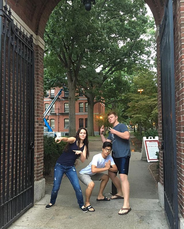 The Harvard Callbacks are EXTREMELY excited to announce our three newest members, Channing Cimarusti '20, Alex Afeyan '20, and TJ Song '20! They have shown exceptional talent, and we're so thrilled to have them on board!
