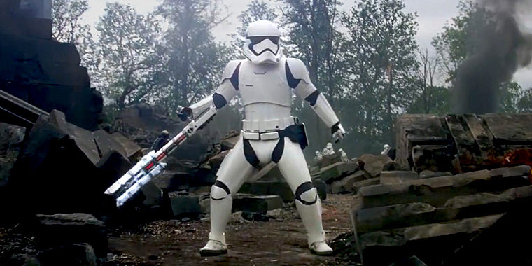 Stormtrooper FN-2199 (TR-8R) from The Force Awakens
