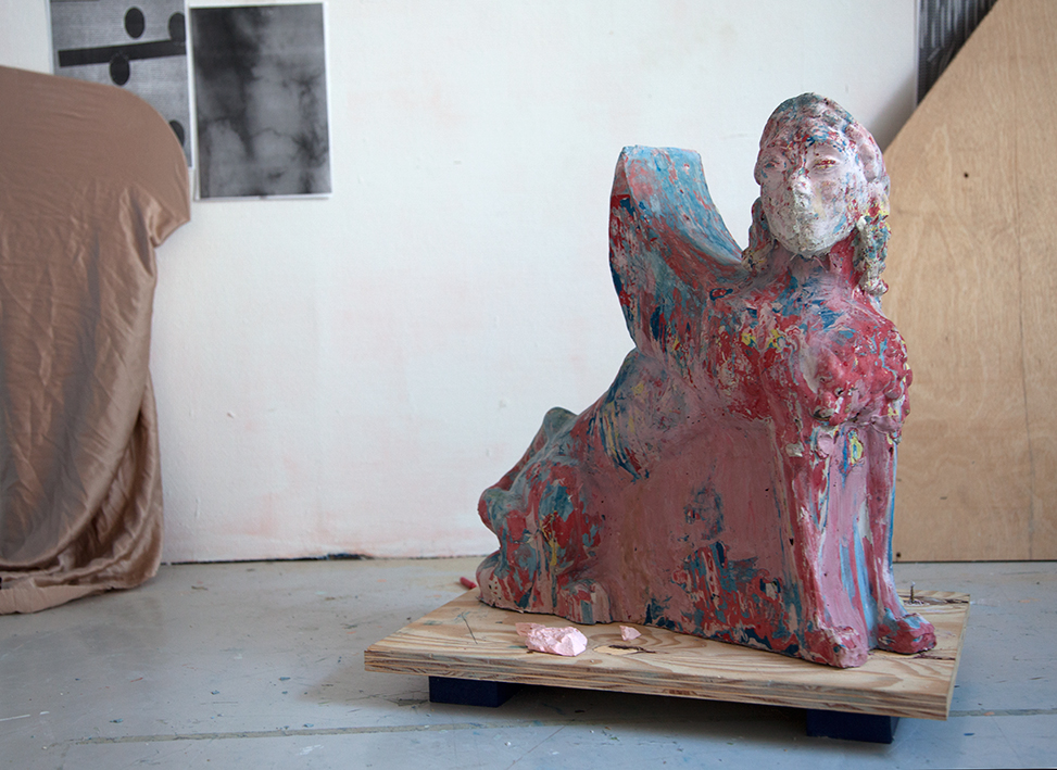 The Shifter plaster & pigments variable dimensions, 2015