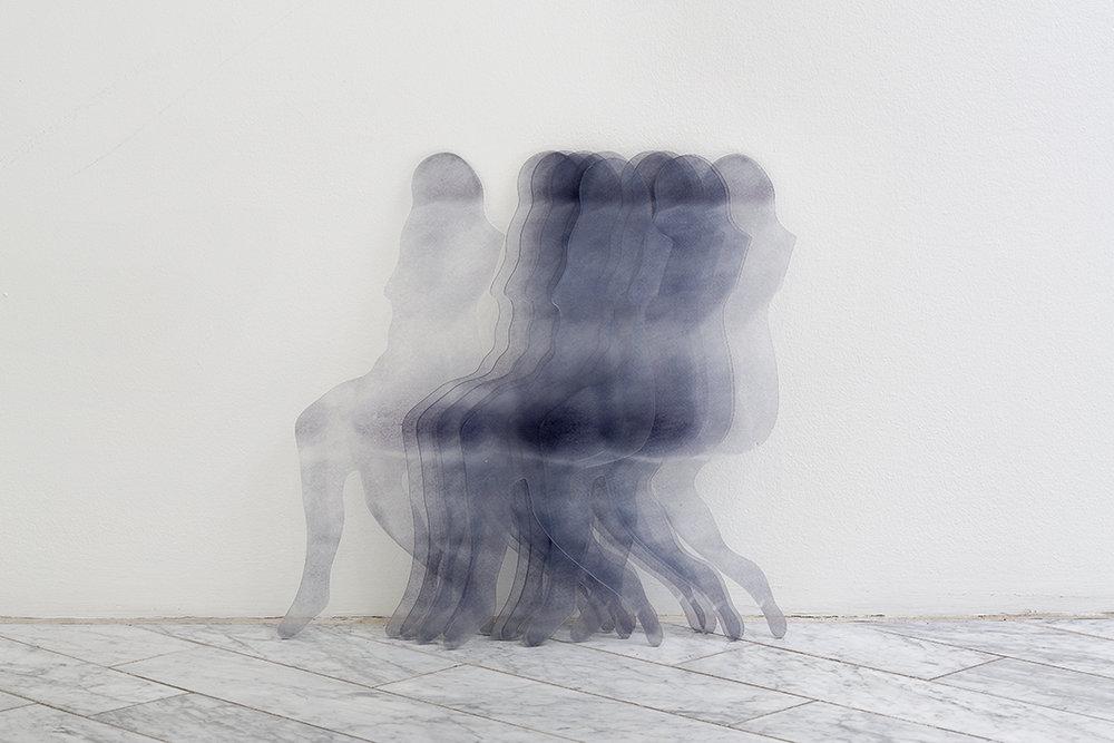 Les Doublettes acrylic glass, print, 70 x 60 cm,2014
