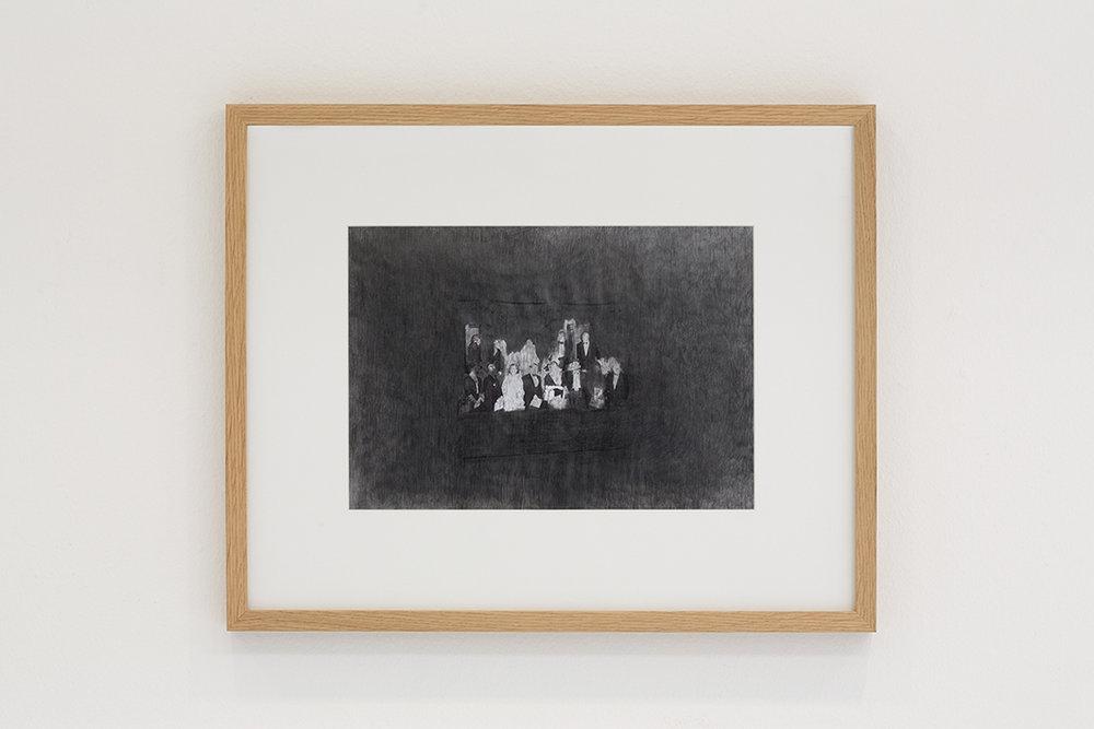 The Audience  pencil, paper, 52 x 67 cm.2008