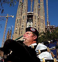 The Sagrada Familia Church    Barcelona