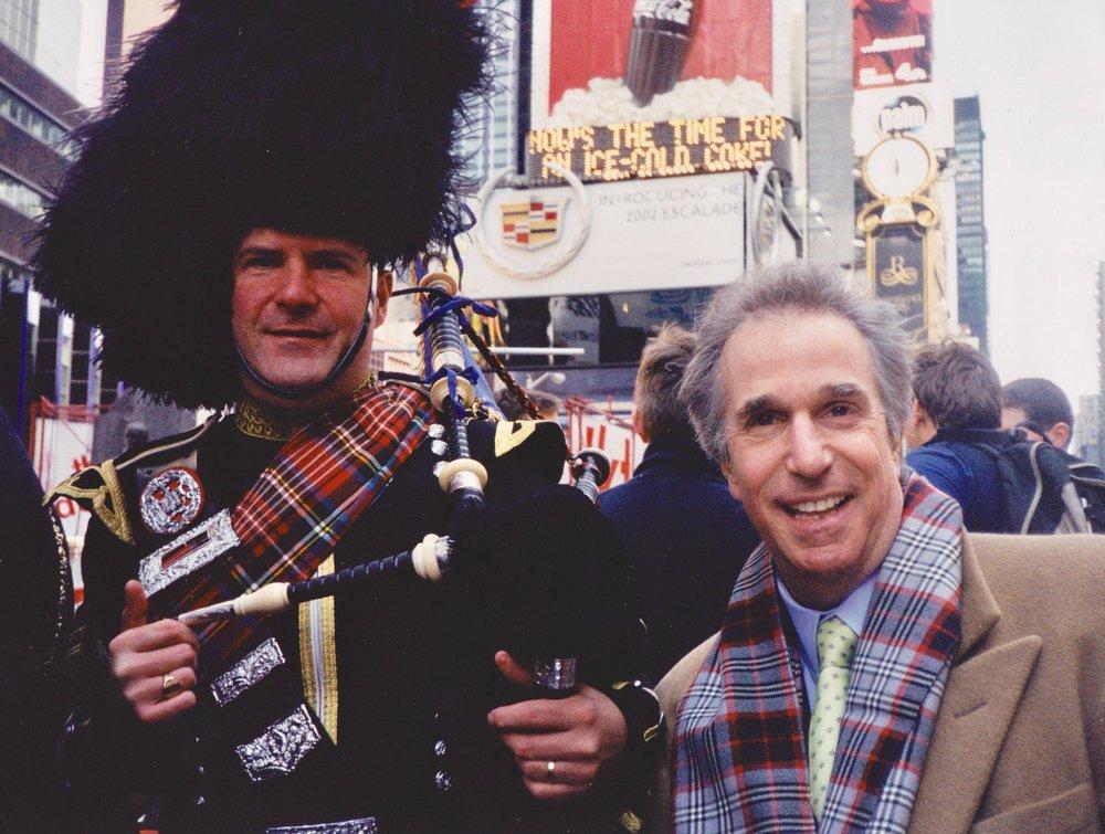 Me and Henry Winkler AKA The Fonz