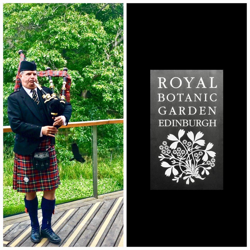 The Royal Botanic Gardens Edinburgh July 2017